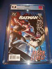 Batman #629 Investment Grade CGC 9.8 Jason Todd Lives Great Cover Red Hood Robin