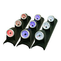 52mm 3 in 1 Triple Tachometer RPM Water Temperature Oil Pressure Gauge Meter NEW