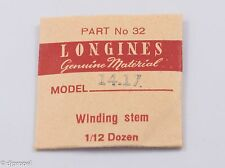 Longines Genuine Material Stem Part 32 for Longines Cal. 14.17