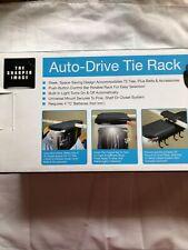 The Sharper Image Auto-Drive Tie Rack New