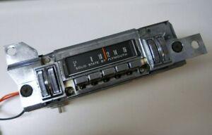 Restored 1968 68 1969 69 Plymouth Barracuda  AM Radio ...Very nice !