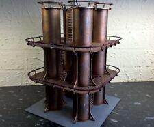 Quad silos scenery warhammer 40k wargame Infinity wargaming building terrain