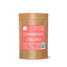 Premium Strawberry Oolong Tea by TeaBayGlobal. Natural Oolong Tea USA Stock