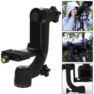 Black Professional Panoramic 360 Degree Vertical Gimbal Tripod Heads for Camera