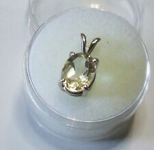 Citrine Not Enhanced Sterling Silver Fine Necklaces & Pendants