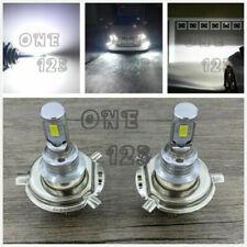 H4 9003 HB2 6000K White 40W CREE LED Headlights Bulbs Kit High Low Beam Canbus