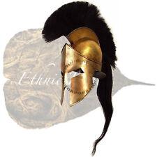 300 king leonidas spartan helmet with black plum and liner free helmet stand