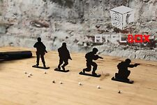 Human-like Soldier BB Gun For Steel Shooting Target Furnishings Spinner Target