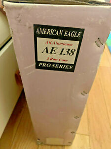 Amercian Eagle AE138 Radiator 2 Row ALL Aluminum Ford Mercury Lincoln LAST ONE