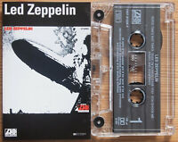 LED ZEPPELIN - LED ZEPPELIN (ATLANTIC 7567815254) 1990s EUROPE CASSETTE REISSUE