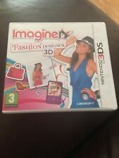 Imagine Fashion Designer Nintendo 3DS With Booklets Tested In Vgc