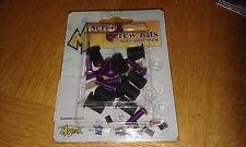 Motrax Motorcycle Screen Screw Kit Purple AWK2