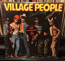 sealed 2Lp The VILLAGE PEOPLE Live And Sleazy 1979 Casablanca NBLP-2-7183