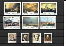Romania - 1971 - Lot de 10 timbres neufs ** (MNH)