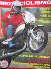 Motociclismo n°8 1984 Test a confronto Honda 1200 Yamaha 1200 Kawa 1200  [GS49]