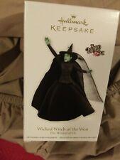 Hallmark Wicked Witch Of The West Ornament 2011 Wizard Of Oz Series Nib