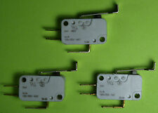 Dixie Narco Single motor switch Mfg #80410073001 fits 501E, 600E and others 3pcs