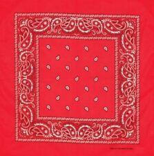 Bufandas y pañuelos de mujer de color principal rojo 100% algodón