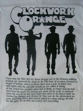 CLOCKWORK ORANGE T-Shirt STANLEY KUBRICK Punk SKINHEAD Oi! UK82 Adicts BLITZ