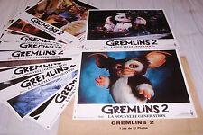 GREMLINS 2 !  jeu 12 photos cinema lobby cards fantastique