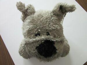 """Dakin Shaggies Ralph  plush dog 12""""  gray"""