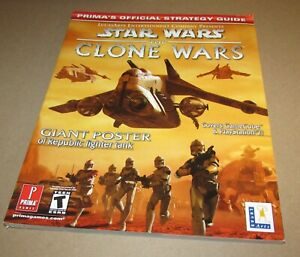 Star Wars: The Clone Wars Strategy Guide for GameCube & Playstation 2