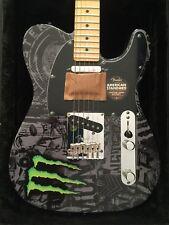 Monster Energy Fender American Standard Telecaster - NEW - 2011 Limited Edition