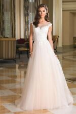 Justin Alexander 8852 wedding dress size 10 brand new with tags white unworn