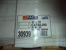 Open End Envelopes Impact White Wove 10X13 500 Per Ctn Now $20 Ctn Special