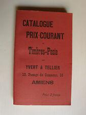 CATALOGUE YVERT & TELLIER 1897 - réimpression Maury-Eurolivres 45300 Manchecourt