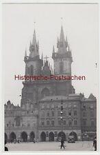 (f6769) ORIG. photo prague, praha, teynkirche 1936