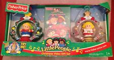 FISHER PRICE LITTLE PEOPLE CHRISTMAS VIDEO GIFT SET