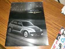 1270) Chrysler 2001 PT Cruiser Paperback Dealer Promo Book Magazine