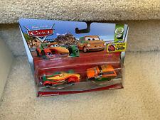 Disney Pixar Cars RIP CLUTCHGONESKI / BRIAN GEARLOOSKI New 2015 2 PACK NON-MINT