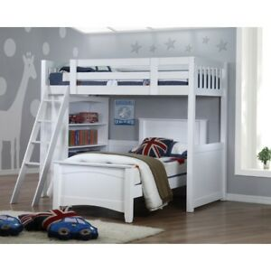 My Design Bunk Bed K/Single W/Bookcase&Andee Bed Single #104029