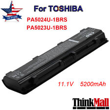 6cell Battery for Toshiba Satellite PA5026U-1BRS PA5027U C840 C855 C805 L800D