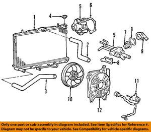 HYUNDAI OEM 96-12 Elantra-Engine Coolant Thermostat 2550023010