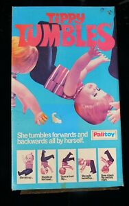 vintage boxed Tippy Tumbles doll by Palitoy 1970s