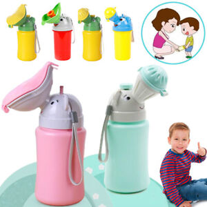 Portable Urinal Potty Baby Kids Children Car Travel Camping Train Outdoor Toilet