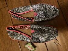 Skechers Bobs Canvas Girls Shoes Size 3,5
