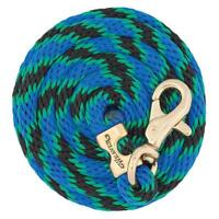 """Weaver Poly Lead Rope with Brass Plated Bull Trigger Snap - 5/8"""" x 10'"""