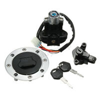 Ignition Switch Lock Fuel Gas Cap 2 Keys For Suzuki GSF 600 1200 Bandit 00774449