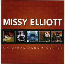 Original Album Series - Missy Elliot (2013, CD NUEVO)5 DISC SET