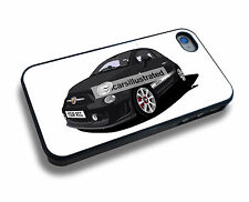 FIAT 500 ABARTH iPHONE 5/6/7/8/X PERSONALISED CLIP ON COVER