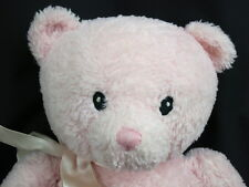 GUND PINK IT'S A GIRL BABY BIRTH ANNOUNCEMENTS SPANISH ES UNA NINA PLUSH BEAR
