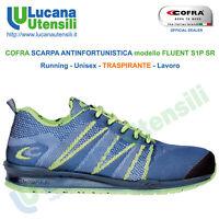 COFRA SCARPA ANTINFORTUNISTICA model FLUENT S1P SRC Unisex Lavoro Scarpe OFFERTA