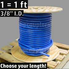 "3/8"" ID FlexFab 5526 Blue Silicone Heater Hose 10mm 350F Radiator Coolant .38"""