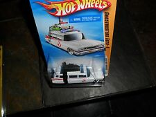 Hot Wheels 2010 New Models Ghostbusters Ecto-1 #25 of 44 nr Mint & Protecto