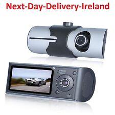 HD 1080P Dual lens LCD Car DVR Night Vision Rear View Dash Camera Recorder Taxi