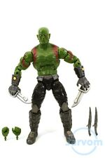 "Marvel Legends 6"" Inch EE Earth Guardians of the Galaxy Drax Loose Complete"